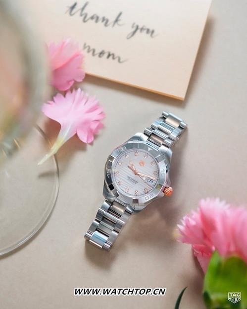 TAG HEUER泰格豪雅母亲节倾心呈献两款腕表 以多变风格向天下母亲致敬 行业资讯 第1张