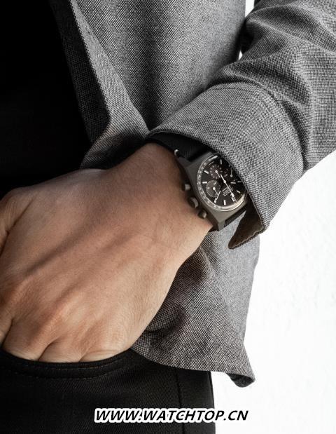 """揭开神秘之纱 暗影重现于世 ZENITH真力时推出 CHRONOMASTER旗舰系列复刻版 """"暗影""""腕表    行业资讯 第2张"""